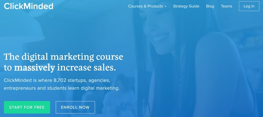 clickminded - digital marketing course