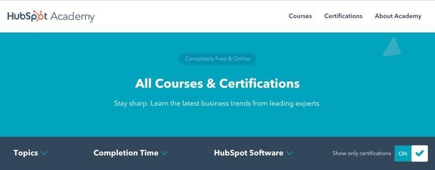 hubspot - online digital marketing