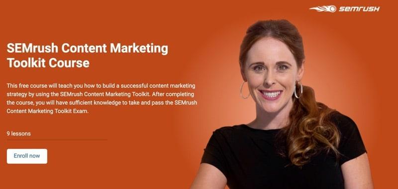 SEMRUSH - digital marketing course